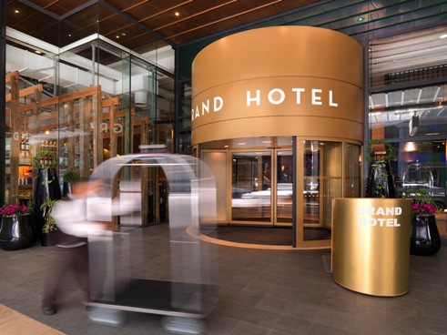Ghotel Entrance