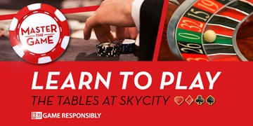 Learn to Play Table Games at SKYCITY Auckland