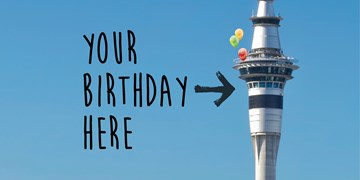 Host your child's birthday party at Sky Café
