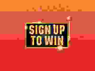 Sign up to win