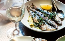 Whole grilled sardines - Made for sharing with friends and family