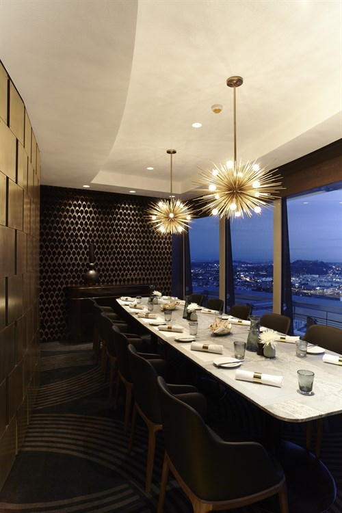 The Sugar Club private dining room