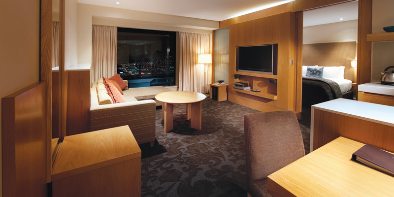 Auckland Grand Hotel's Premier Self Contained Suite